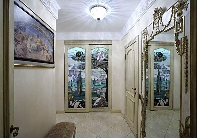 Дизайн интерьера квартиры на ул. Бассейной. Холл