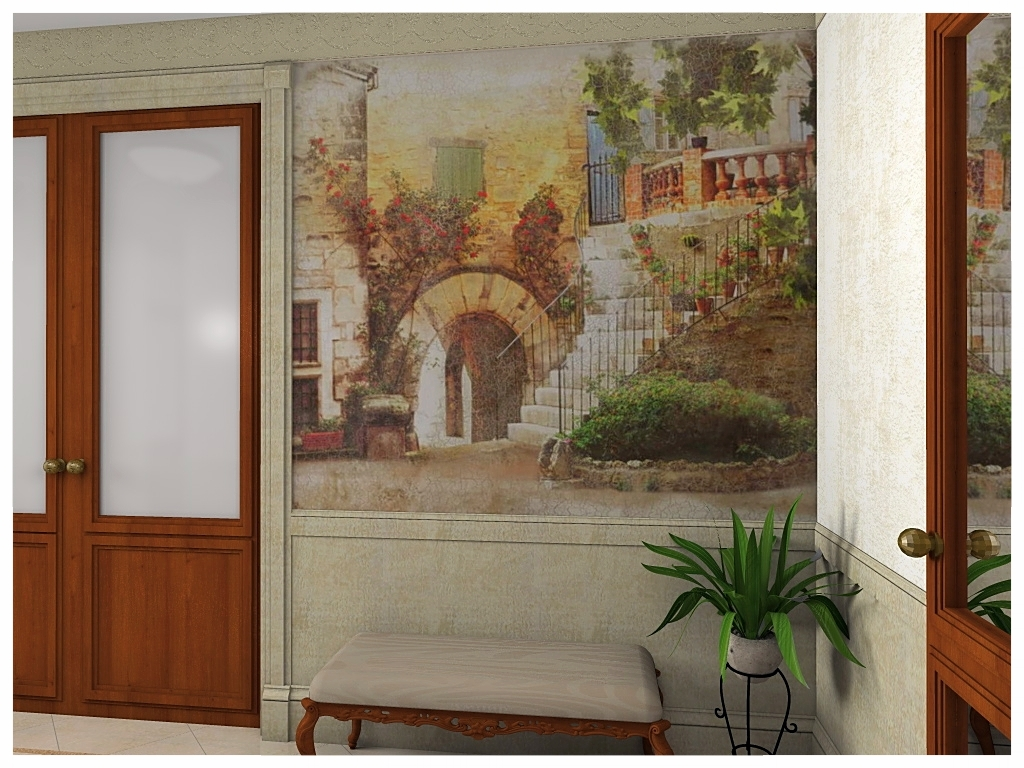 Дизайн интерьеров квартиры. Холл 3.