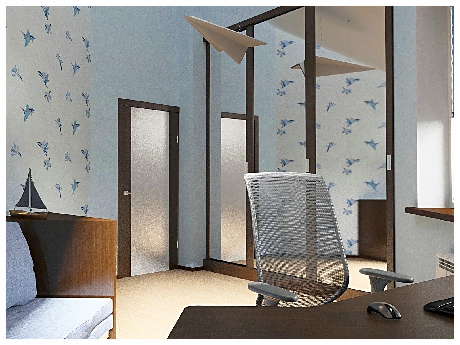 Дизайн интерьеров дома. Детская 1.