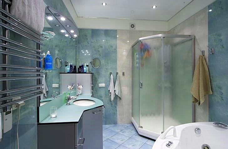 Дизайн интерьера санузла. Фотография 1