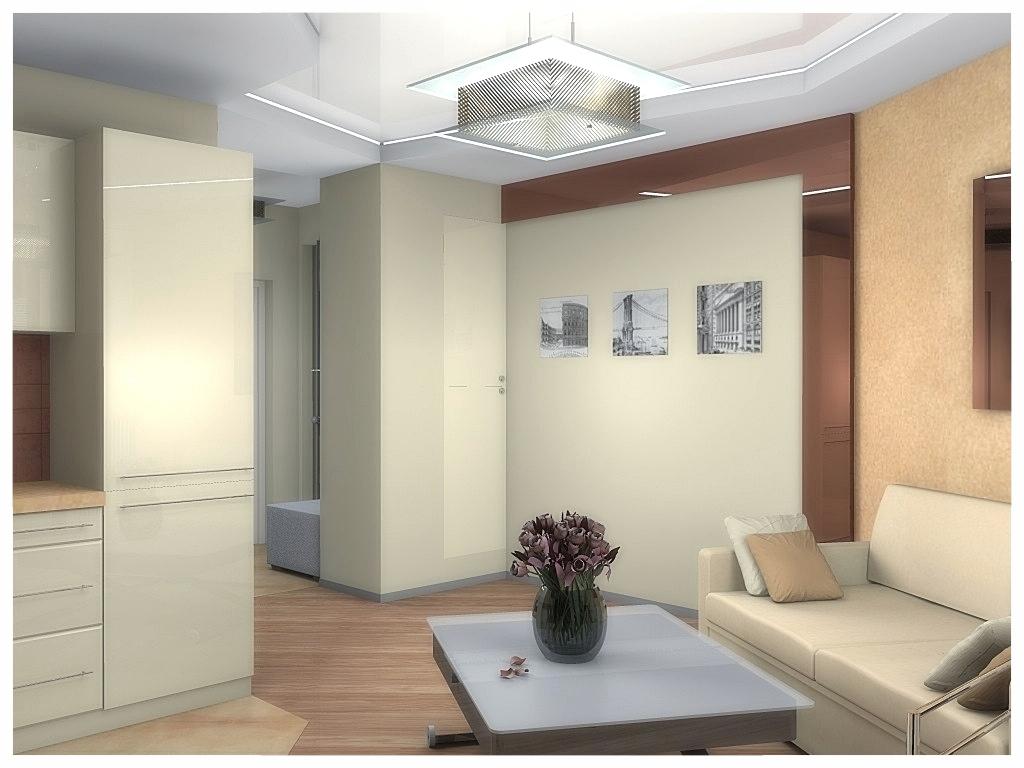 Дизайн интерьеров квартиры-студии 5.