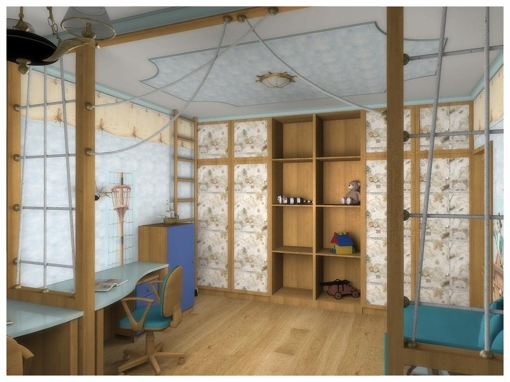 Дизайн интерьеров квартиры. Детская 4.