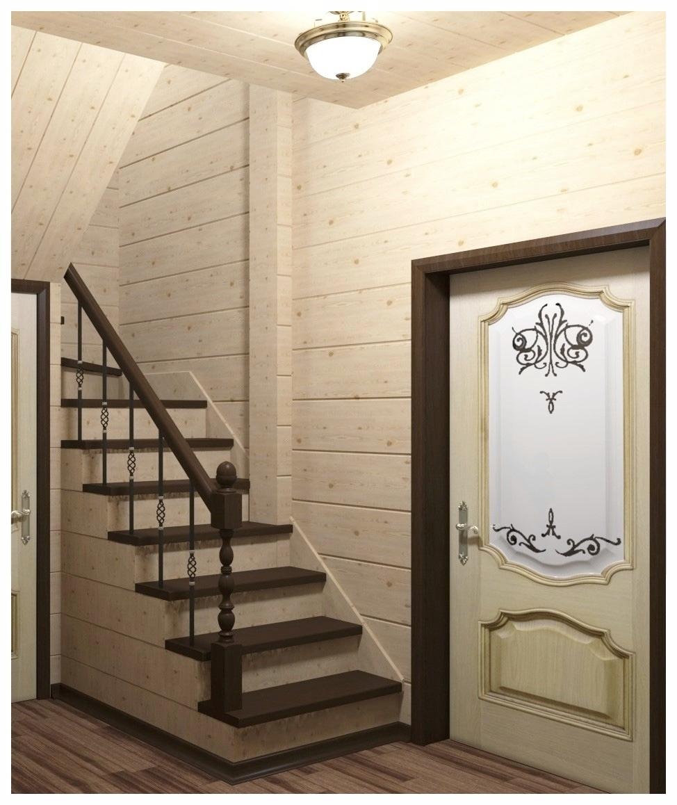 Визуализация интерьера лестницы