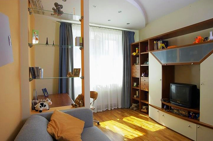 Дизайн интерьера детской. Фотография 1