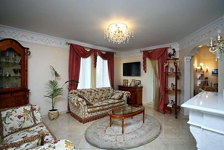 Фотография интерьера гостиной