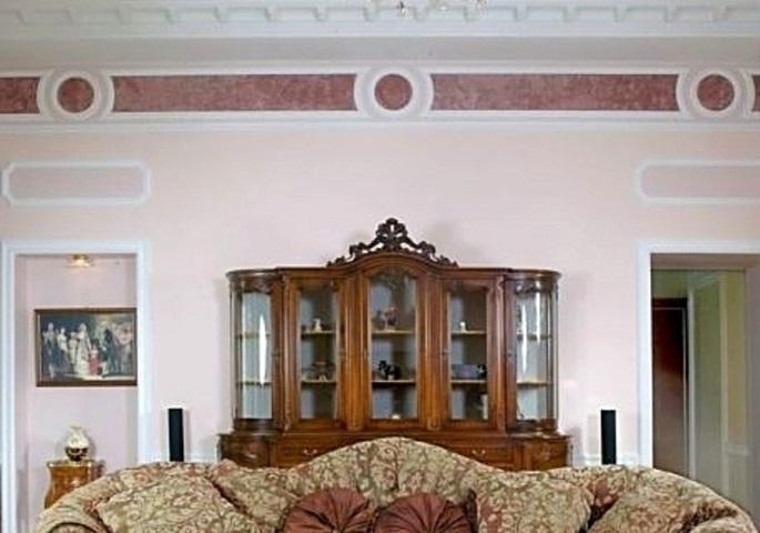 Дизайн интерьера квартиры на наб. Мойки. Гостиная