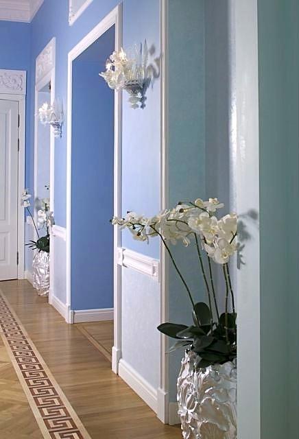 Фотография интерьера коридора квартиры