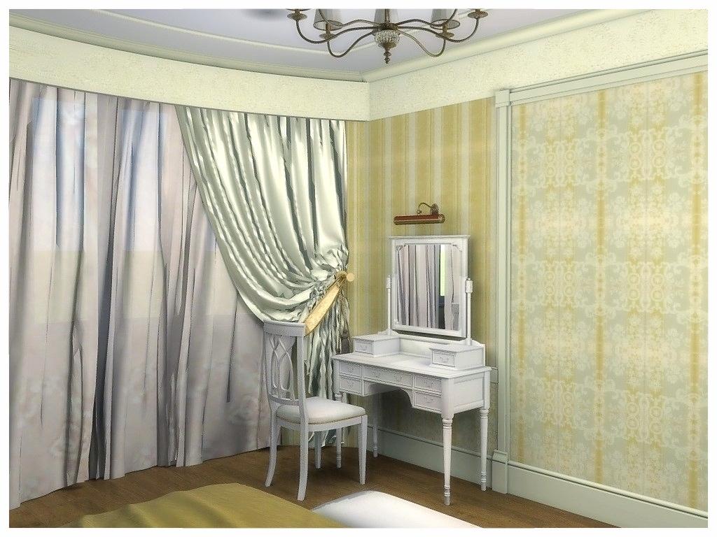 Дизайн интерьеров квартиры. Спальня 2.