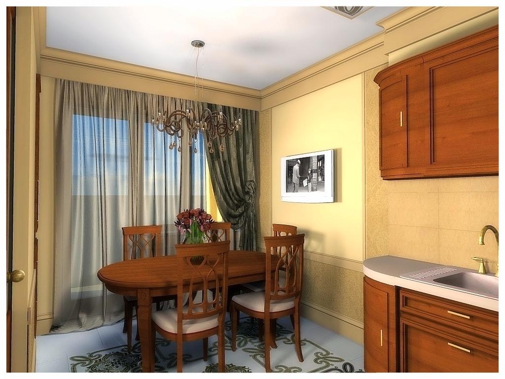 Дизайн интерьеров квартиры. Кухня 1.