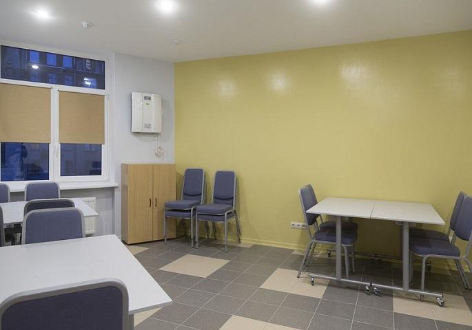 Дизайн интерьера учебного центра. Вид 3