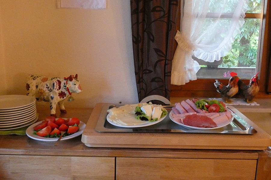 Den Tag mit Bauernfrühstück beginnen