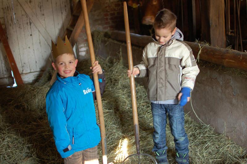 Kinder lieben Bauernhofurlaub