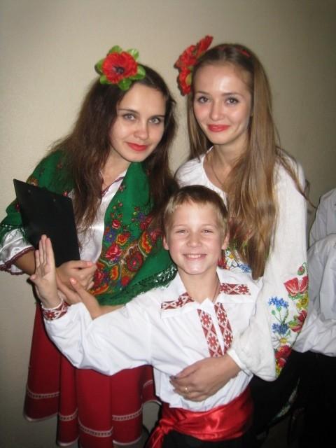 У концерті українського танцю взяли участь талановиті діти нашої школи.