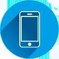 Grafik: Telefonansagen - Stimmige Gesamtkonzepte | perfect sense media consulting, Hamburg