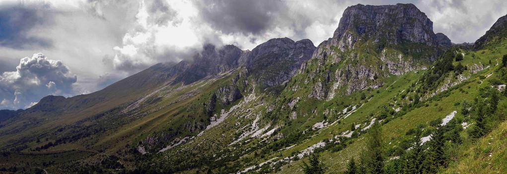 Krim Gebirge in Slovenien