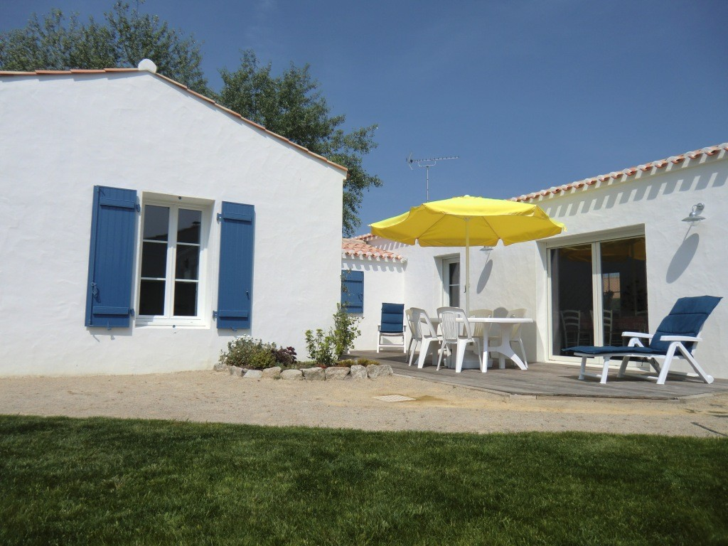 Location Beaulieu à Noirmoutier-en-l'île - Terrasse et jardin