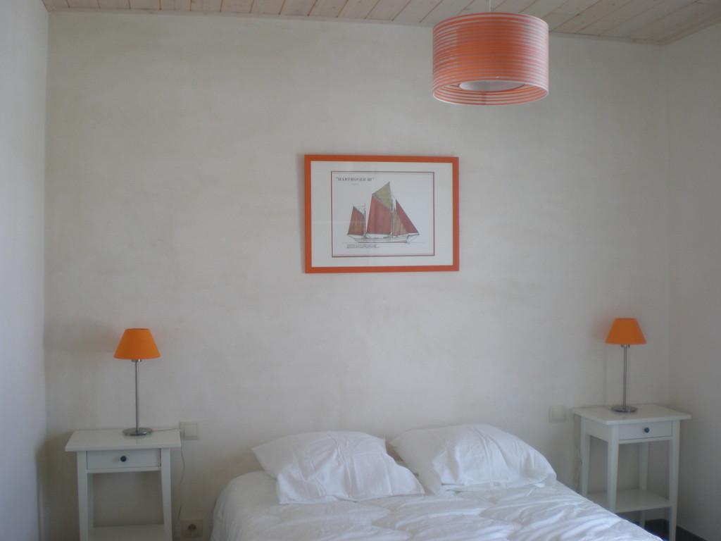 Location Beaulieu à Noirmoutier-en-l'île - Chambre Couleurs acidulées
