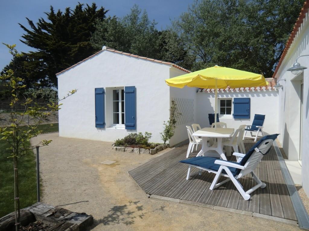 Location Beaulieu à Noirmoutier-en-l'île - Terrasse