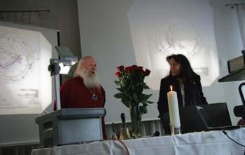 Komponist und Pianist Werrner Bärtschi und Beatrice Ganz