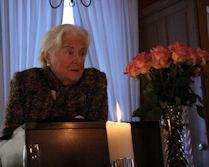 RA Margarethe Laurent-Cuntz, Ehrenmitglied und Sponsorin der Festschrift sowie Referentin
