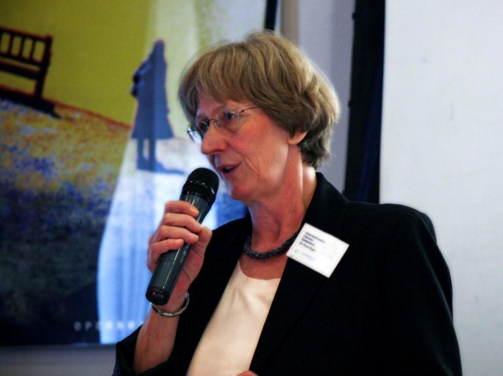 Eva Stangenberg, Referentin und Schulleiterin des Ausbildungszentrums Karlsruhe, Rottenburg, München