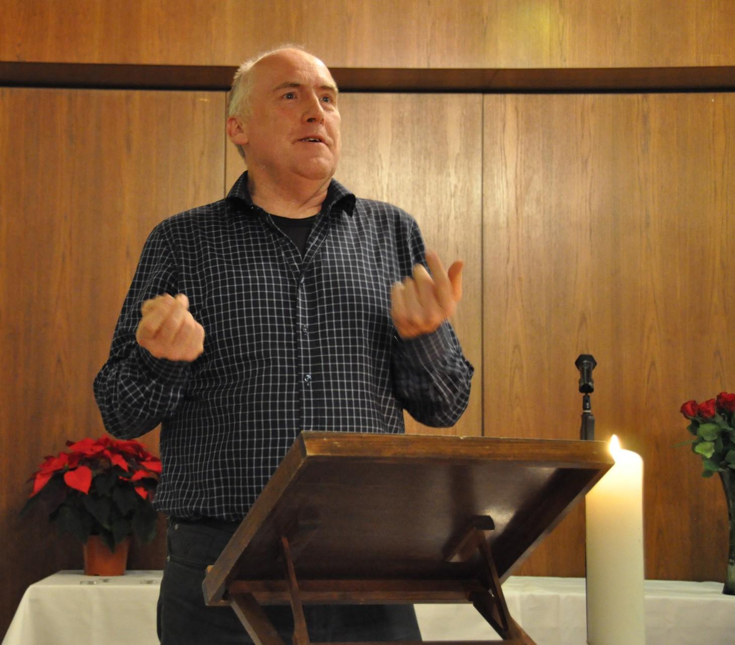 Klemens Ludwig, 1. Vorsitzender DAV, Astrologische Weihnachtsfeier 2015