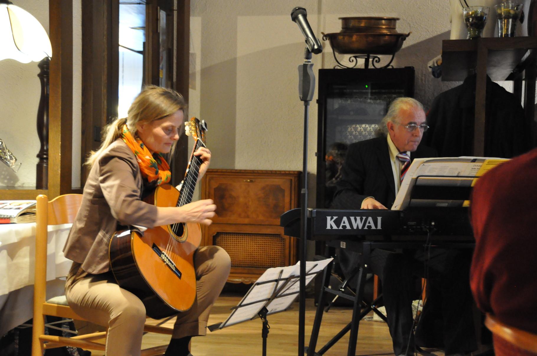 Kammermusik-Duo Regula Theus und Kurt Scheurer