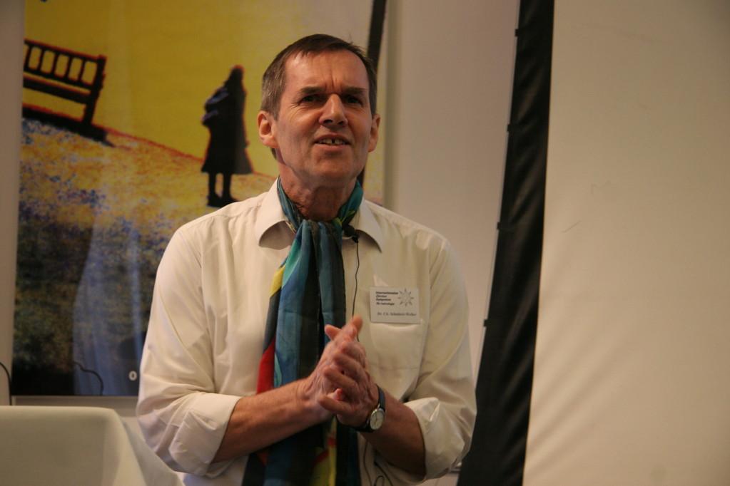 Dr. Christoph Schubert-Weller, Moderator und Referent, ehem. 1. Vorsitzender des Deutschen Astrologen Verbandes