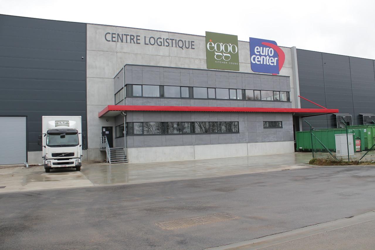 Centre logistique Eggo & Eurocenter