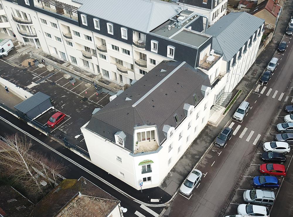 Réhabilitation de l'ancienne clinique de Sens en résidence de standing
