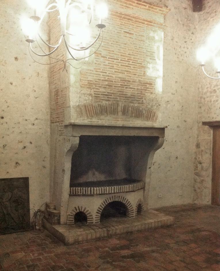 Rénovation d'une cheminée ancienne