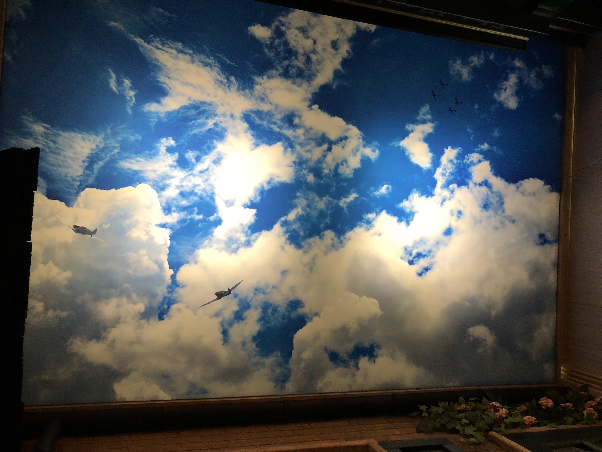 Wolkenplafond