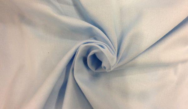 Baumwolle hellblau