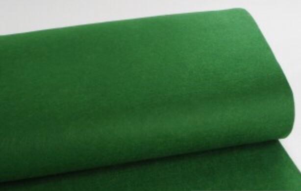 Filz dunkelgrün