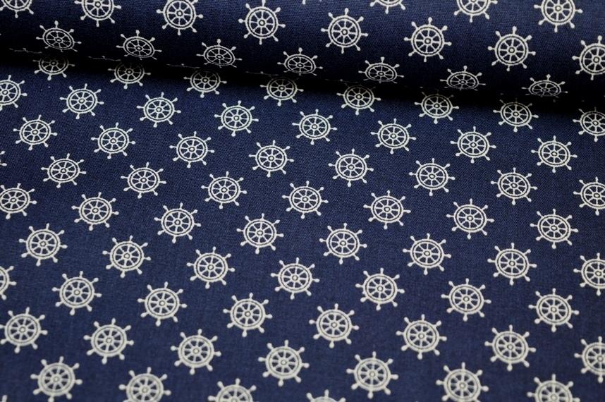 Baumwolle Steuerrad dunkelblau