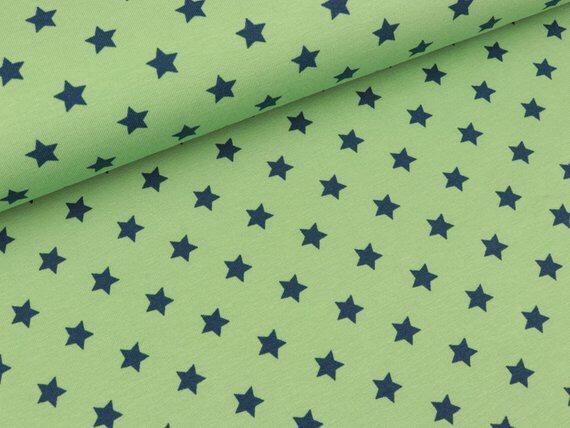 Jersey grün blaue Sterne