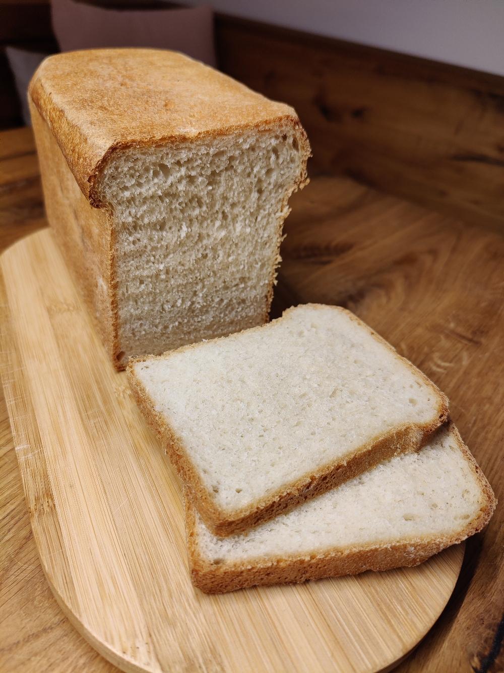 Toastbrot aufgeschnitten