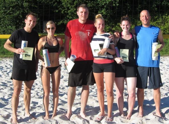 Internes Beach-Mixed-Turnier - Teil 1 (06.07.14)