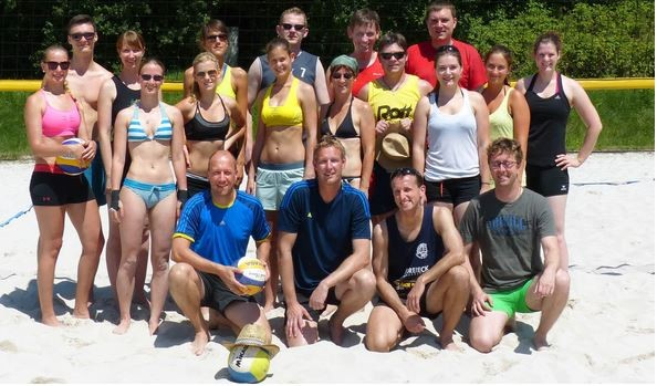 Internes Beach-Mixed-Turnier - Teil 2 (06.07.14)