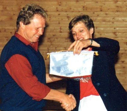 Januar 1987: Dankeschön der kanadischen Delegation für die Gastfreundschaft des VC-DJK
