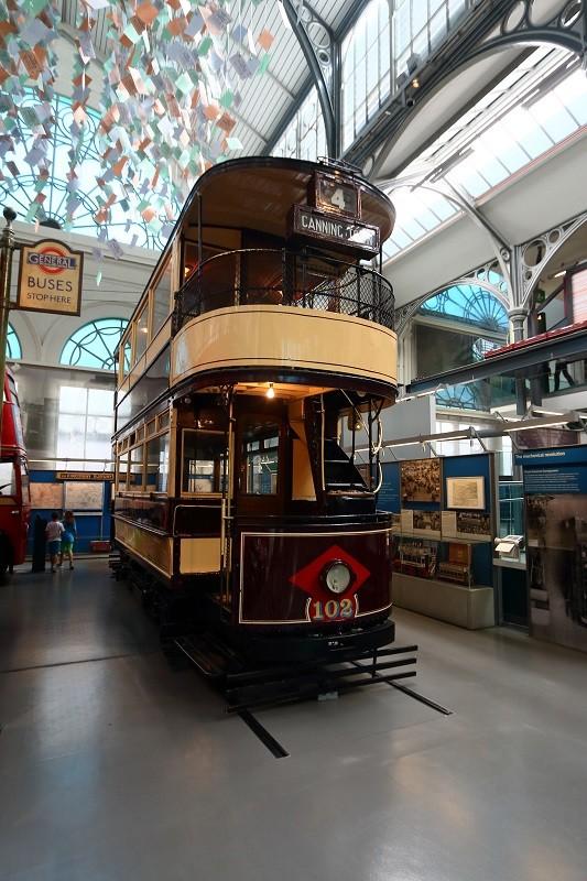 Tramway londonien à deux étages de 1910
