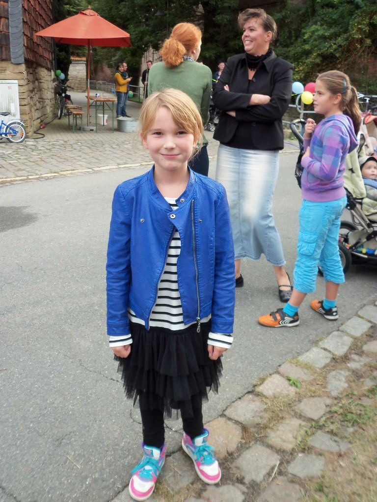Alicia Reilein...1. Platz Entenrennen 2013...