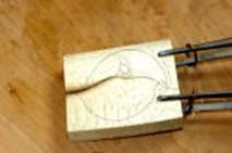 ④ぼかしを入れることで、柔らかいグラデーションが出来る。