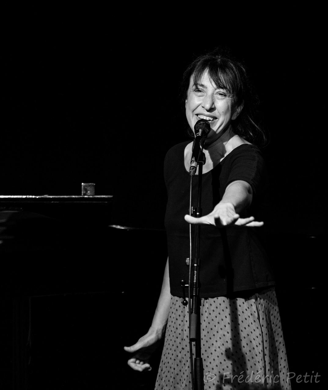 12 juin 2015 - Céline Caussimon @ Forum Léo Ferré