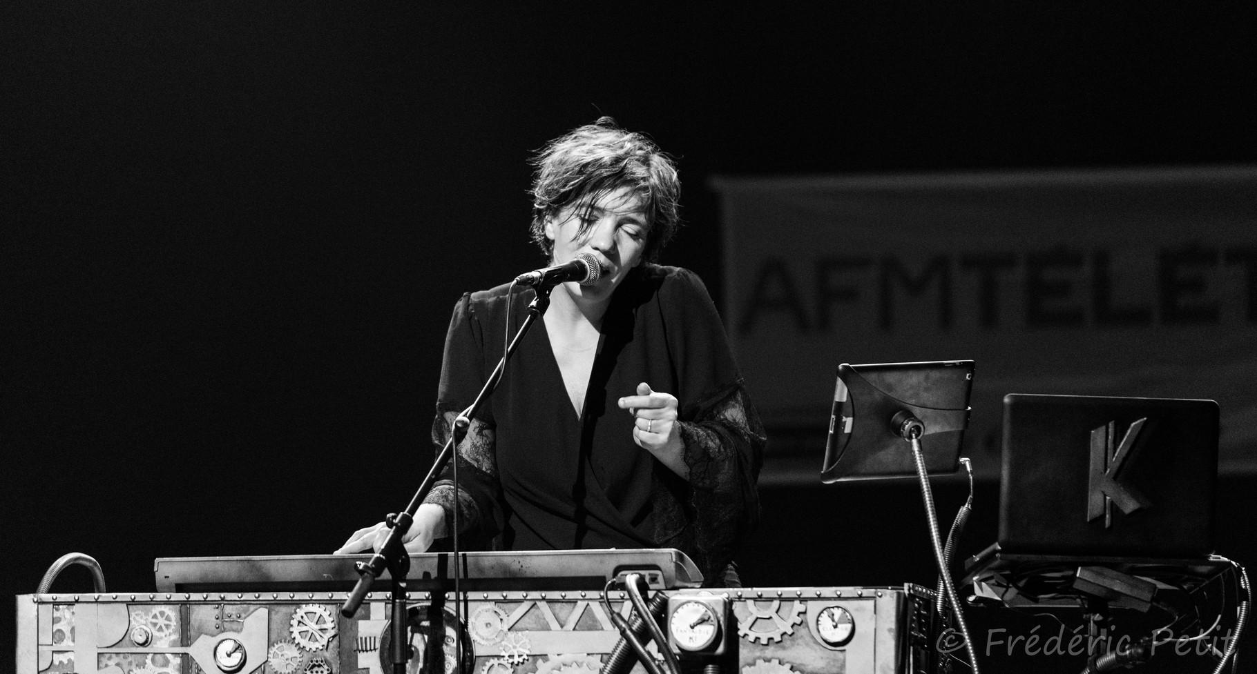 23 octobre 2015 - K! @ salle Guy Gambu (concert Téléthon du département de l'Eure)