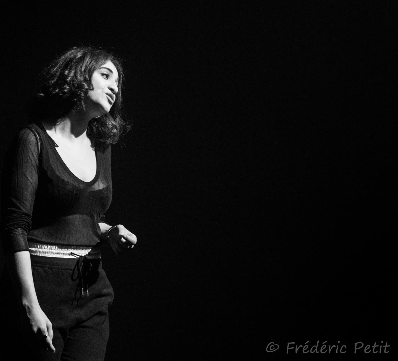 9 octobre 2015 - Camélia Jordana @ Sud-Est Théâtre (Festi'Val de Marne)