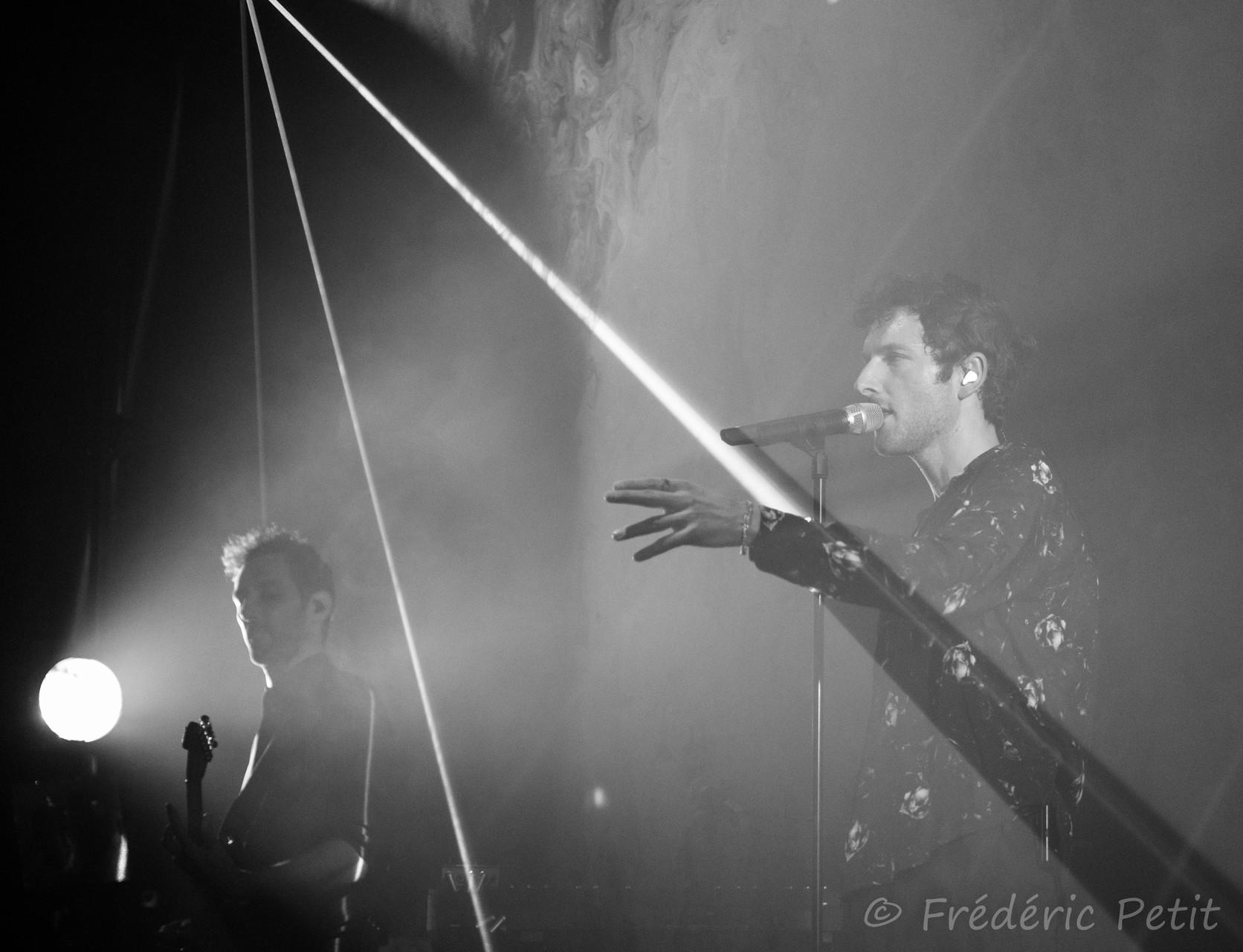14 octobre 2015 - AaRON @ La Cigale (MaMA Festival)