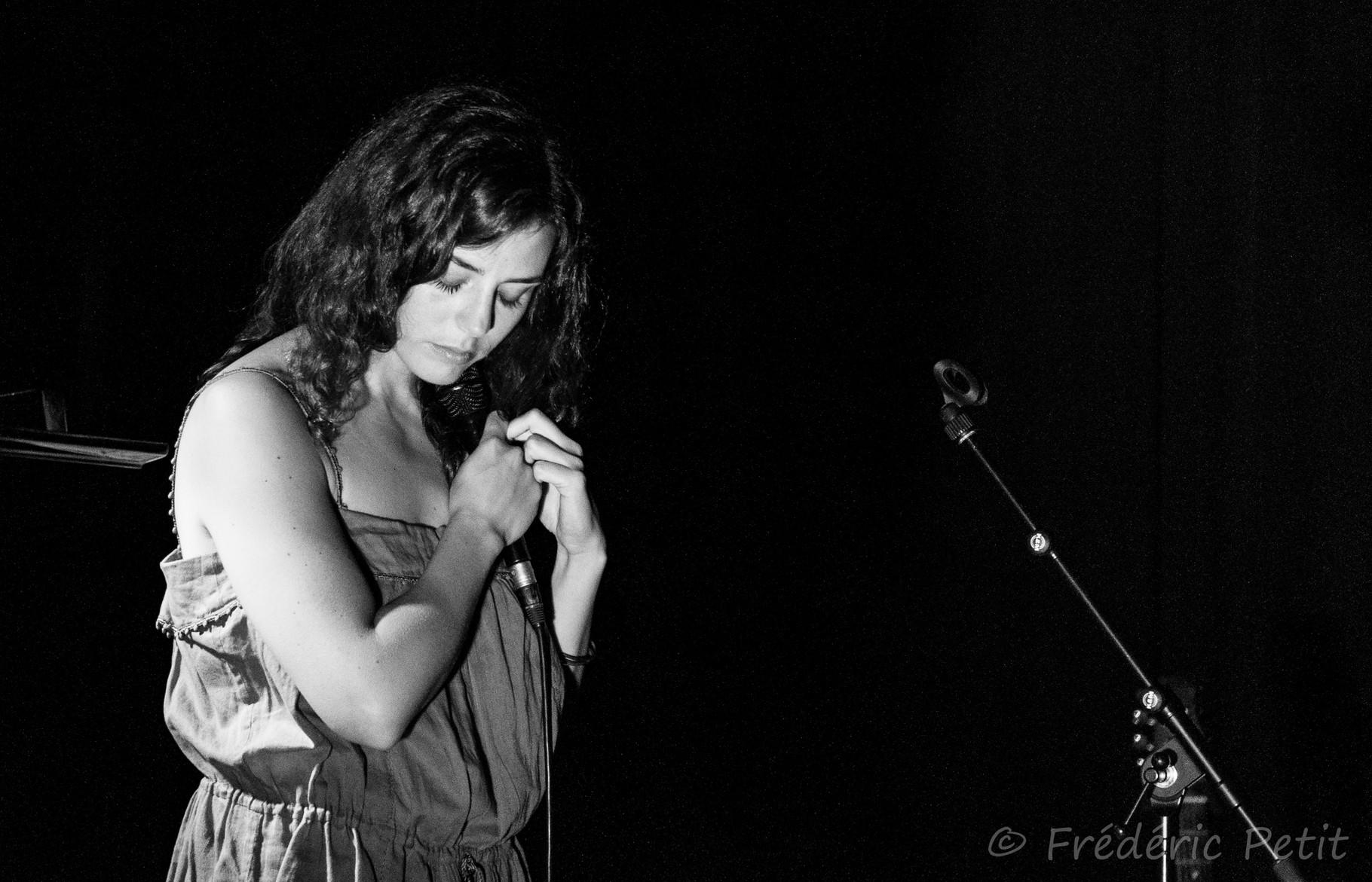 12 juin 2015 - Angèle @ Forum Léo Ferré