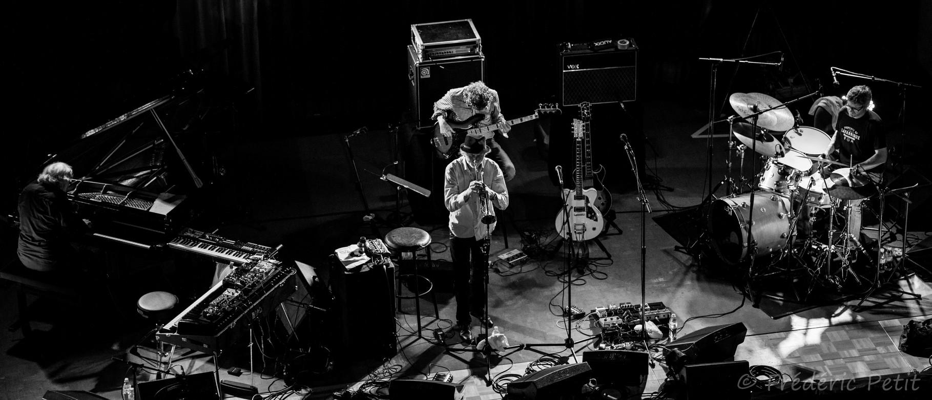 21 mai 2014 - Erik Truffaz invite Rodolphe Burger @ Amphithéâtre Binet (Festival Jazz à Saint-Germain-des-Prés)