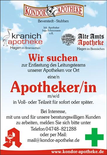 Stellenangebot Hagen im Bremischen